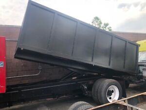 14 Feet Dump Truck Body W 10 Ton Piston System For Sale Ebay