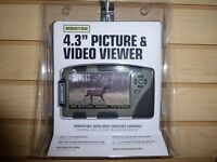 Moultrie 4.3 Lcd Sd Card Game Camera Picture Viewer Mca-13135