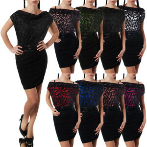 Damen-Kleid-Kleider-Cocktailkleid-Sommerkleid-Abendkleid-Ballkleid-N847