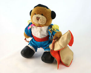 The-Teddy-Bear-Collection-034-Manuel-The-Matador-034-Plush-Issue-No-70-Soft-Toy