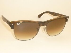 oversized clubmaster  New RAY BAN Sunglasses CLUBMASTER OVERSIZED RB 4175 878/51 Brown ...