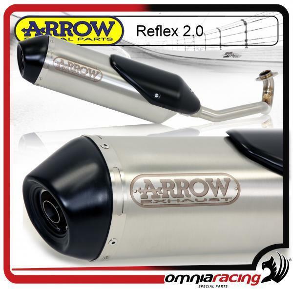 Arrow Reflex 2.0 escape completo con homologado colector Kymco Downtown 300 2009