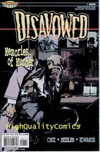 DISAVOWED-1-2-3-4-5-NM-Murder-Choi-Detective-Intrigue-2000