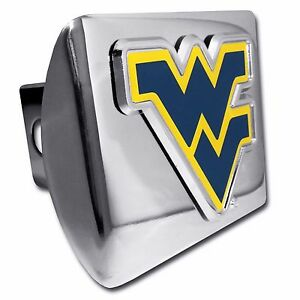 NCAA West Virginia Mountaineers Car Trailer Hitch Cover