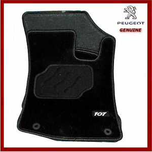 PEUGEOT 107 TAILORED RED CAR MATS
