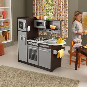 Details about Pretend Kitchen Play Set 30 Piece Oven Refrigerator Kids Toy  Oven Child Learning