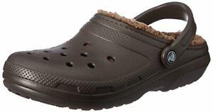 Crocs Women's Men's Classic Lined Clog | Warm and - Choose ...