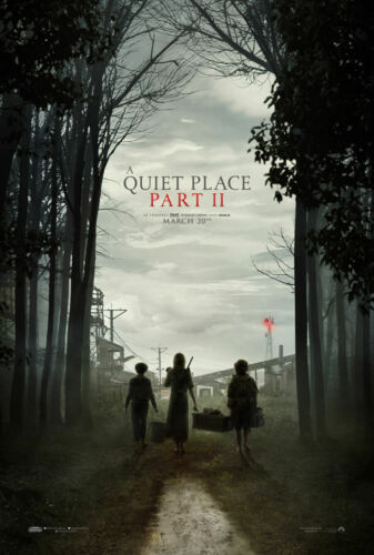 Details about  /A Quiet Place 2 Movie 2020 March Silk Poster 24x36 32x48 E628