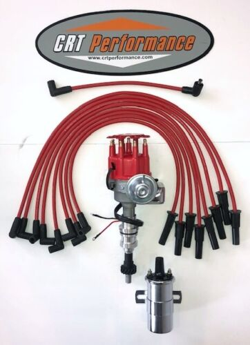 WIRES HI PERF CAN COIL FORD 351C 351M 400 429 460 Small HEI DISTRIBUTOR RED