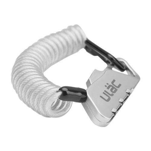 ULAC Portable Mini Long Security Steel Cable Password Lock Luggage Lock 4 Colors