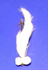 "3  Rutland 2/"" WHITE HOT EYE SNAKE LURES Trout Flies by Iain Barr Fly Fishing"