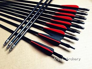12Pcs-Fiberglass-Arrows-screw-tips-for-recurve-bow-amp-compound-bow-Achery-hunting