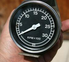 67 72 Ford Truck Vintage Stewart Warner 3k 3000 Rpm Mechanical 3 38 Tachometer
