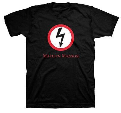 M,L,XL Marilyn Manson Double Cross Black Pullover Hoodie Shirt badhabitmerch