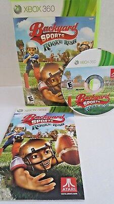 Backyard Sports : Rookie Rush (Microsoft Xbox 360, 2010 ...