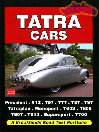 TATRA PORTFOLIO BOOK CAR 603 613 T57 T87 T97 T603 T613