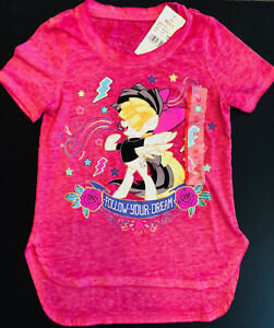 MLP-My-Little-Pony-Movie-Sia-Dreams-Girls-T-Shirt-Top-Kids-Youth-X-SMALL-XS-4-5