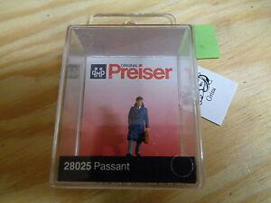 H0-Preiser-28025-passant-figura-emb-orig