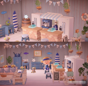 New-Horizons-54-PCs-Blue-Summer-Beach-Style-Living-Room-Furniture-Item-Set