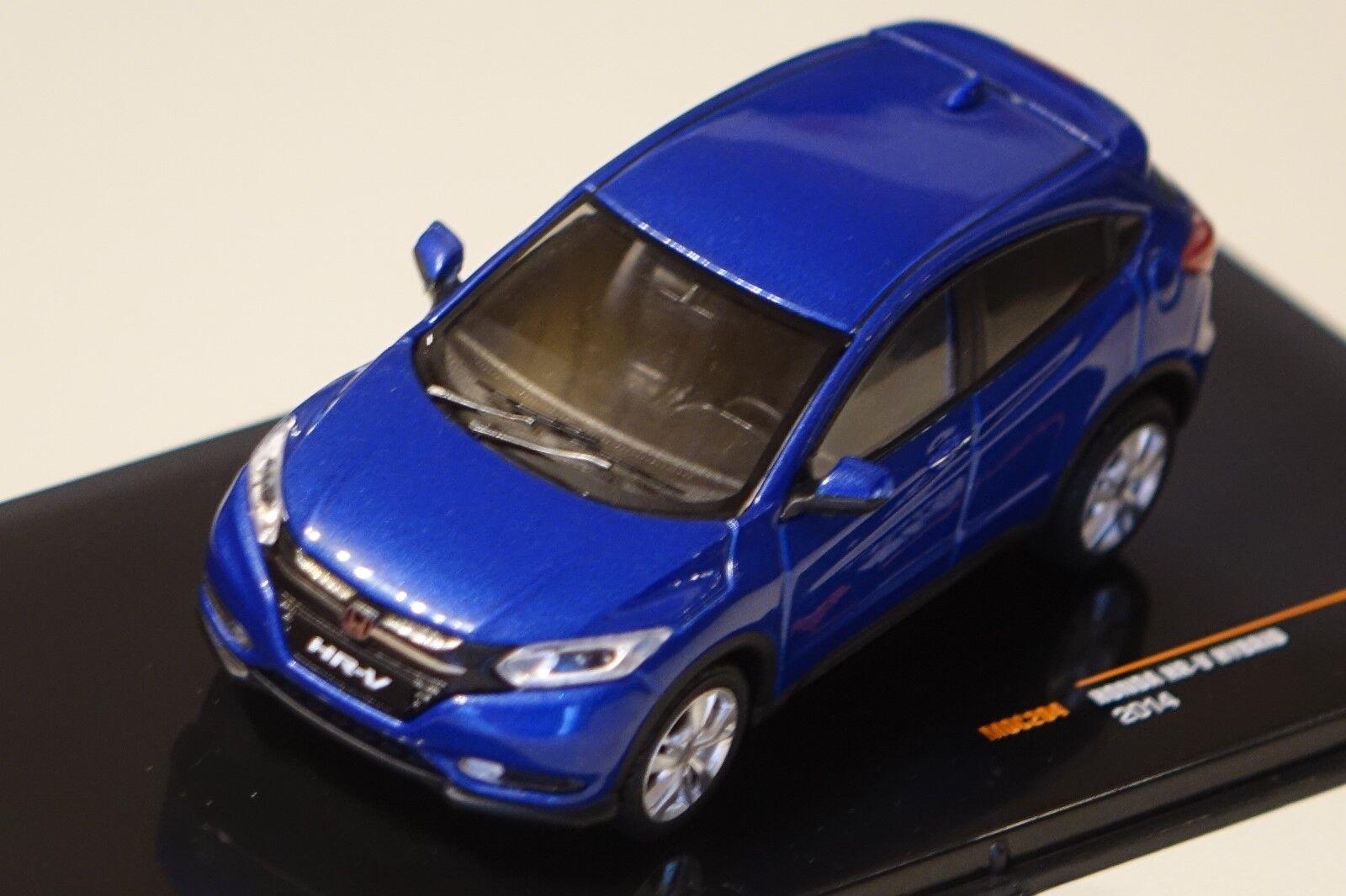 Honda HR-V HR-V HR-V Hybrid 2014 azul metalizado 1 43 Ixo moc204 nuevo embalaje original & 362714