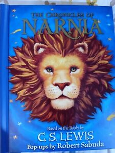 The Chronicles Of Narnia Pop-up Book. Autographed by Robert Sabuda.