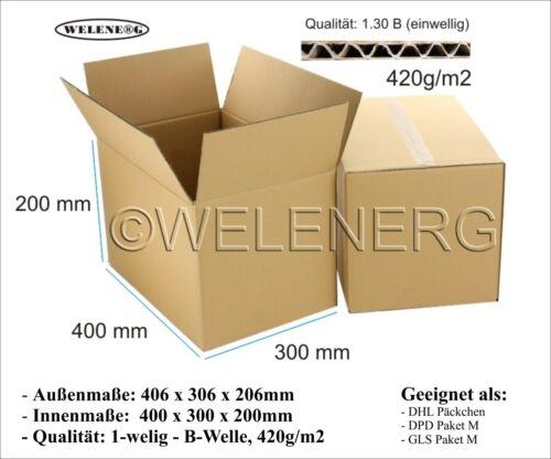 Falt Umzugs Versandkartons 800x600x600 2-wellig DHL Europaletten Modulkarton