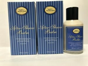 Lot of 2 The Art of Shaving After Shave Balm (Lavender)3.4 oz/100ml, See Details