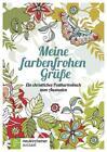 Meine farbenfrohen Grüße (2017, Postcard book)