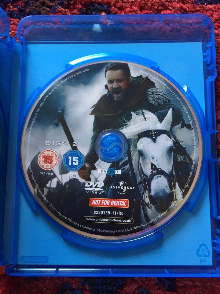 Robin Hood, instruktør Ridley Scott, Blu-ray