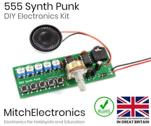 555-Synth-Punk-Electronics-Electronic-DIY-Kit