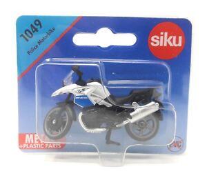Siku-metallo-Edition-Polonia-1049-MOTO-BMW-Polizia-Policja-modello-all-039-estero