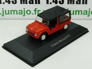 ARG32G-Voiture-1-43-SALVAT-Autos-Inolvidables-CITROEN-MEHARI-1971
