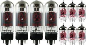 JJ-Tesla-Premium-Tube-Complement-Set-for-Peavey-6505-Plus-Guitar-Amp-NEW