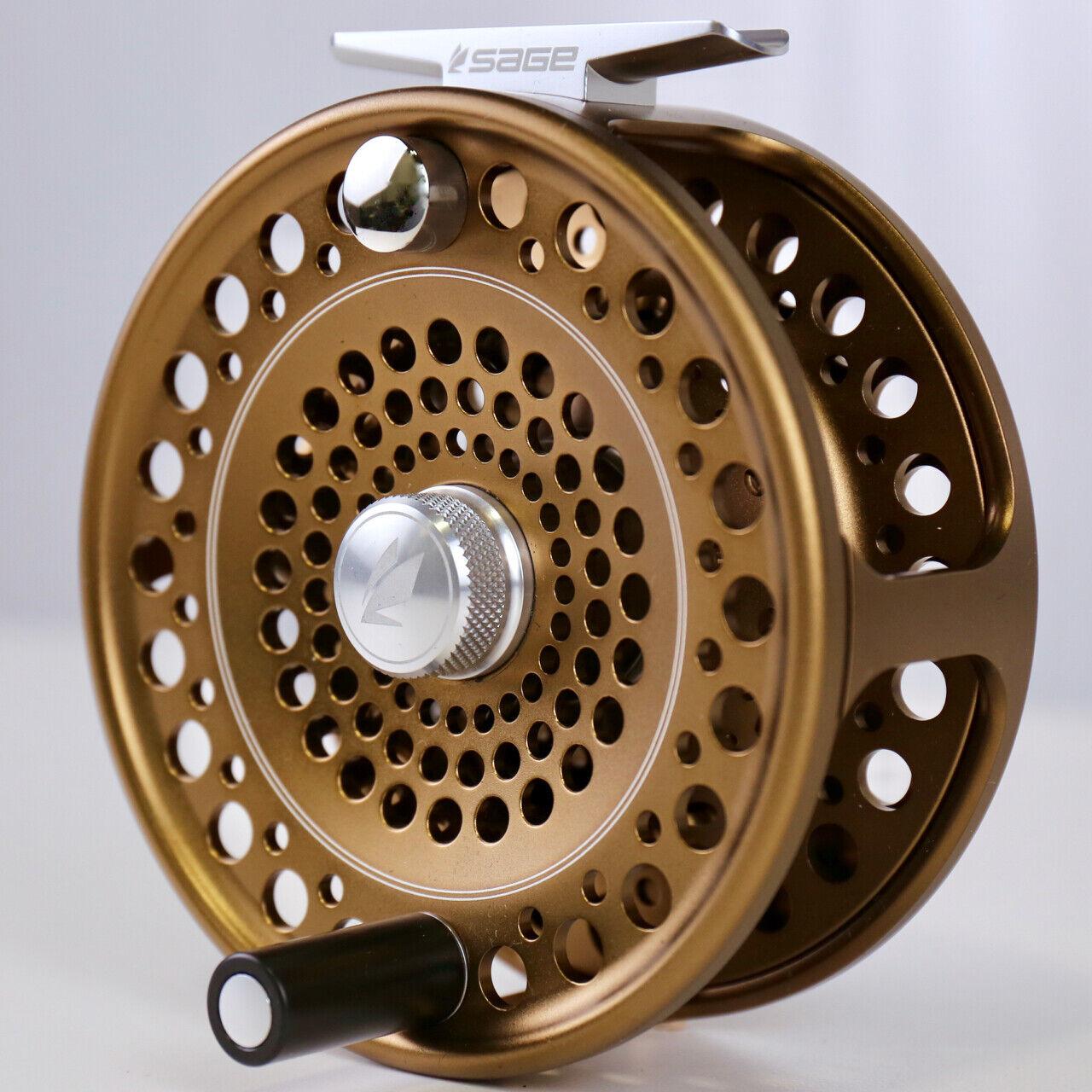 Sage Spey para mosca Cocherete de Pesca Tamaño De Bronce 7 8 9 Envío Gratis Rápido