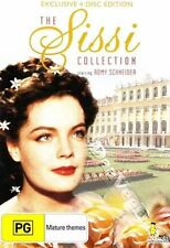 The Sissi Collection NEW PAL/NTSC Classic 4-DVD Set E. Marischka Romy Schneider