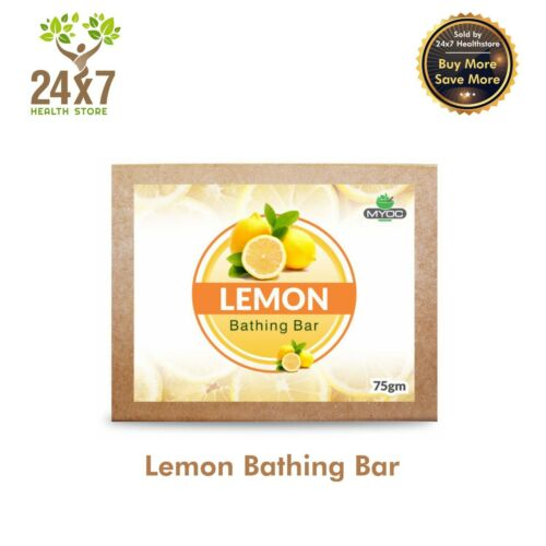LEMON OIL AND VITAMIN E ASTRINGENT SOAP, DEODORANT, ANTISEPTIC SOAP 75GM