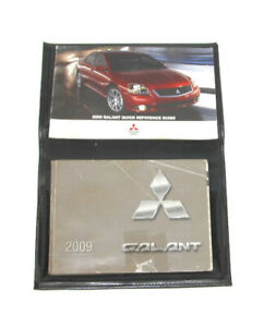 2009-Mitsubishi-Galant-Factory-Original-Owners-Manual-Portfolio-11