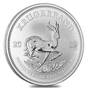 10-oz-10-x-1-oz-2019-Silver-Krugerrand-Coin-999-Ag-South-African-Mint