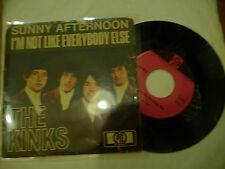 "THE KINKS""SUNNY AFTERNOON-disco 45 giri PYE Ger 1967"""