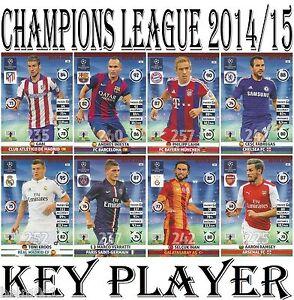 A imagem está carregando  KEY-PLAYER-Adrenalyn-2014-2015-Champions-League-Panini- 550f926938400