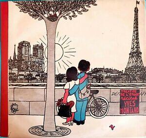 Double-Album-33-RPM-Yves-Montand-A-Teatro-De-LA-ESTRELLA