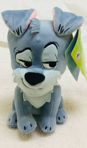 """BNWT Disney Store Lady and the Tramp Furrytale Friend Tramp Plush Small Toy 9/"""""""