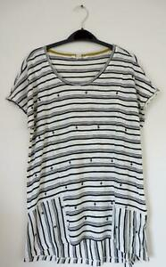 NEW-EX-WHITE-STUFF-UK-SIZE-6-14-IVORY-CREAM-STRIPE-BEADED-FINE-KNIT-JERSEY-TOP