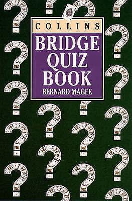Bridge Quiz Book, Magee, Bernard, Very Good Book