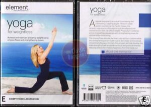 YOGA-FOR-WEIGHT-LOSS-Element-Mind-amp-Body-fitness-DVD-R4-Region-4-Australia