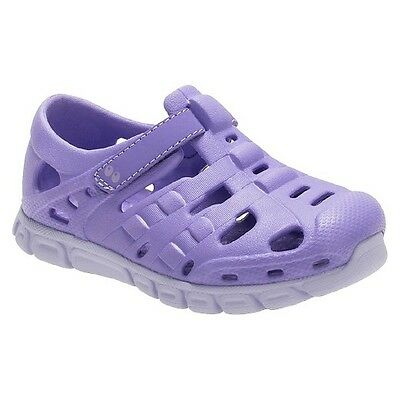 Girls Surprize by Stride Rite Venecia Land /& Water Shoes Adjustable Purple NWT
