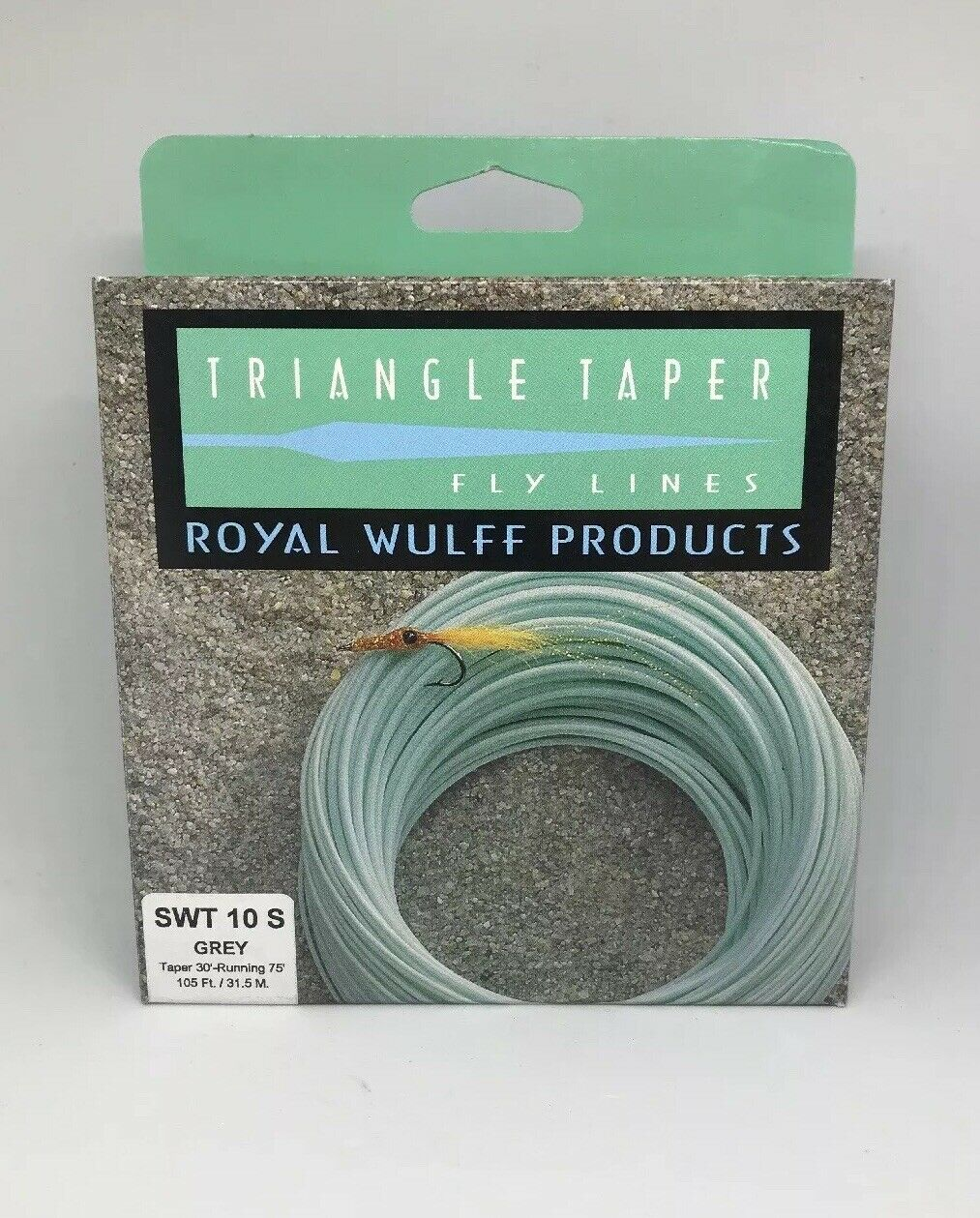 Royal Wulff Triangle Taper Saltwater 10wt. Sinking Fliegen Line