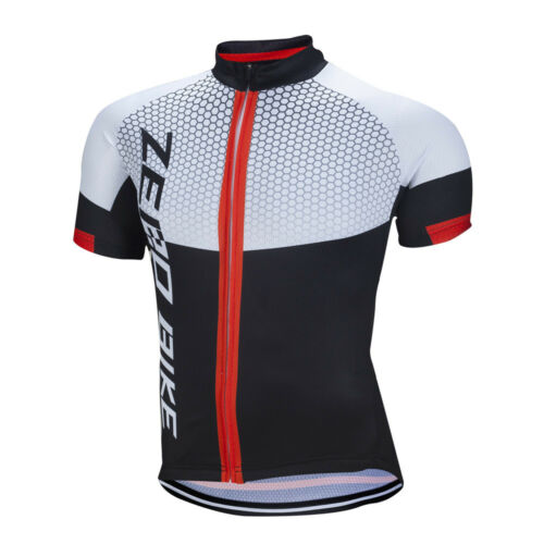 Men/'s Short Sleeve Cycling Jersey Zerobike Bike Bicycle Jersey Tops Bike Shirts