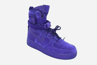 Nike SF Af1 Special Field Air Force 1 Size 10 Shoes Royal Blue 864024 401