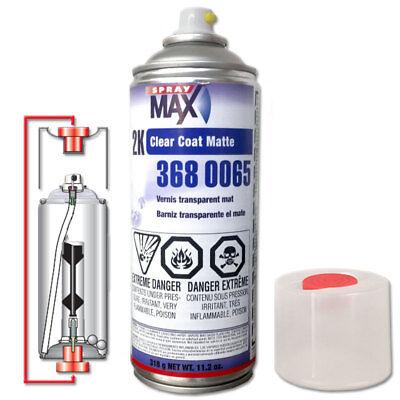 SprayMax 3680061 2K Glamour High Gloss Clear Coat 11 8 oz Aerosol Spray Can  USC | eBay
